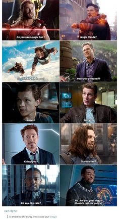 The Avengers 350014202290599566 - I love that this person added some extra. It suddenly makes it seem like it belongs to it making it that much funnier/cleverer Source by Magellouve Avengers Humor, Marvel Avengers, Marvel Jokes, Funny Marvel Memes, Dc Memes, Marvel Dc Comics, Marvel Heroes, Funny Comics, Spiderman Marvel