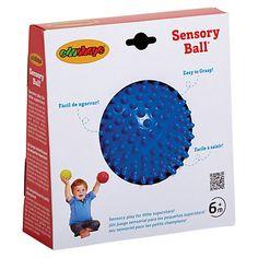 Buy Halilit 10cm Sensory Ball, Blue Online at johnlewis.com