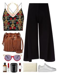 """""""4.449"""" by katrina-yeow ❤ liked on Polyvore featuring Rodin Olio Lusso, Preen, FOSSIL, Victoria, Victoria Beckham, Topshop, BCBGMAXAZRIA, Prada Sport, DKNY, Diptyque and Rodin"""