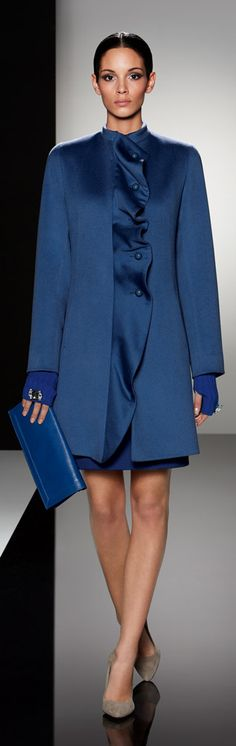 Cinzia Rocca. Love the lapel. TG