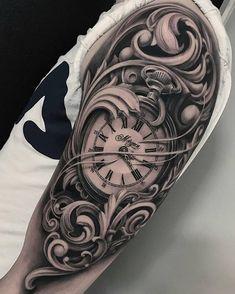 Guys these Tattoos are Better Than Yours Design Uhren Tattoos Vorlagen - Tattoo Uhr - Tattoo