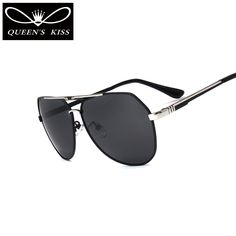 Find More Sunglasses Information about QUEENS KISS Men Classic Brand Sunglasses HD Polarized stainless steel Driving Sun glasses Luxury high quality Shades UV400 ,High Quality sunglasses hd,China brand sun glasses Suppliers, Cheap brand sunglasses from QUEENS KISS QUEENSKISS-007 Store on Aliexpress.com