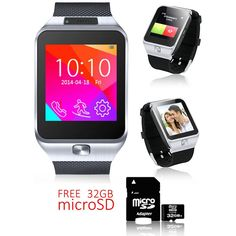 Indigi 2-in-1 SWAP2 Smart Watch And Phone Bluetooth Sync   GSM Sim Card Slot - Free 32gb SD * You can find out more details at the link of the image. (This is an affiliate link and I receive a commission for the sales)