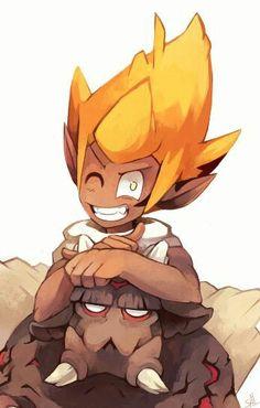 Percedal and Rubilax Wakfu Evangelyne, Yugo Wakfu, French Anime, Manga Anime, Anime Art, Dragons, Character Art, Character Design, Fanart