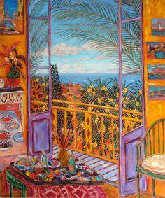 elpasha71:  Bonnard's Dining Room (Le Cannet, 1943)
