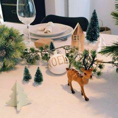 SCANDIMAGDECO Le Blog: Noël - quand la déco passe à table