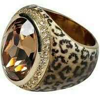 DesertRose,;,Anillo print de leopardo,;,