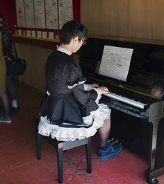 Play it again, Samantha. #Crossdressing, #Sissy, #Tokyo