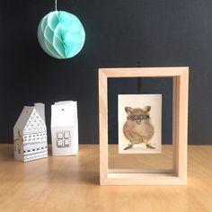 Voici ce que je viens d'ajouter dans ma boutique #etsy: Tableau Peinture, Aquarelle originale, Objet de décoration, pièce unique, cadeau original