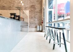 Scott & Scott Architects creates stripped-back ice cream shop