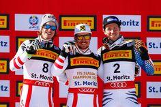 Marcel Hirscher GOLD M.Feller..SILBER F.Neureuther..BRONZE Ronald Mcdonald, Skiing, Champion, Bronze, Sports, Gold, Fictional Characters, Fashion, Silver