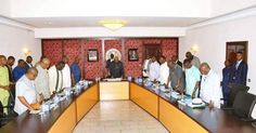 Governors from South South and south east  kick against marginalization.