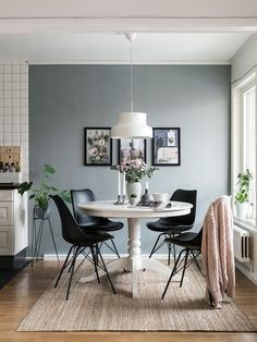60 Modern Kitchen Dining Room Design and Decor Ideas Page 41 of 64 SeShell Farmhouse Dining Room decor design Dining Ideas Kitchen modern page Room SeShell Room Interior, Interior Design, Esstisch Design, Dining Room Inspiration, Scandinavian Interior, Scandinavian Style, Scandi Style, Dining Room Design, Design Kitchen