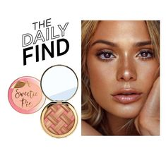 """""""Daily Find: Too Faced Bronzer"""" by polyvore-editorial ❤ liked on Polyvore featuring beauty, Too Faced Cosmetics, DailyFind and beautyfind"""