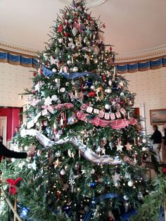 the white house christmas decorations