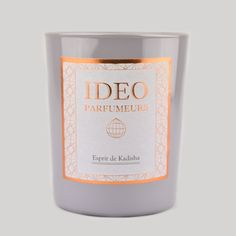 Ideo Parfumeurs Esprit de Kalisha Scented Candles: The deep silence was regularly broken by the crackling of the flaming wood. Occasionally, a flash of light illuminated the dark but magnificent Kadisha Valley, hidden in the majestic mountains of Lebanon. The hermit knelt and closed his eyes. He loved those long moments of meditation. He prayed for all those persecuted, for the suffering, but also for the other hermits hidden in the many caves of the Holy Valley. Carried away by the burning…