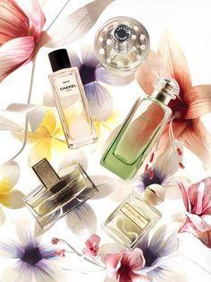 floral fragrances lightbox
