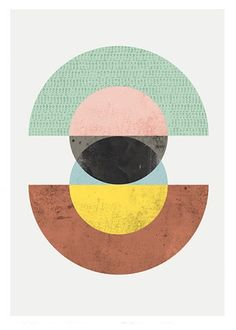 By Wallzilla https://www.etsy.com/listing/223742661/circles-art-abstract-art-geometric-print