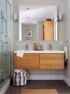 Diseño de Interiores Arquitectura: Muebles de Baño Ikea Suspendido Gormorgon Odensvik