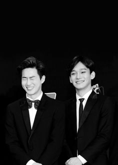 Chen and Suho Exo Chen, Baekhyun Chanyeol, My Beau, Exo Couple, Exo Korean, Chinese Boy, Yixing, Funny Facts, New Pictures
