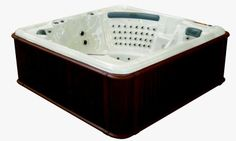 Whirlpool Modell Essen Spa, Bathtub, Outdoor, Essen, Standing Bath, Outdoors, Bath Tub, Bathtubs, Outdoor Games