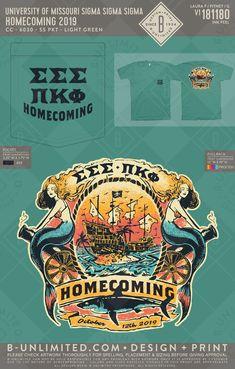 #trisigma #homecomingshirt Sorority Shirts, Social Events, Homecoming, T Shirt, Supreme T Shirt, Tee Shirt, Tee
