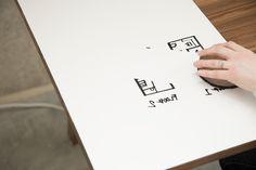 Furniture. Amazing Modern Hardwood Desk To Ease Your Workflow By Artifox: Inspiring Multifunction Hardwood Desk Provide Erase Tasks For White Board On The Table Design Idea ~ wegli