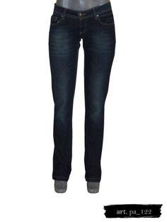 Jeans De Mezclilla Obscura Sfera - $ 340.00