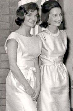 The Bouvier sisters: Jackie & Lee