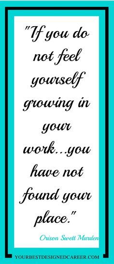 career, career advice, career change, job change, dream job, inspirational quote, quote, inspiration, career quote