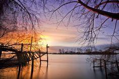 I'm love the sunset - Pôr de Sol em Escaroupim - aldeia avieira
