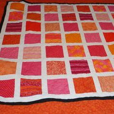 NEW LOWER PRICE Queen size Bright pink and by 4quiltsandmore, $189.00