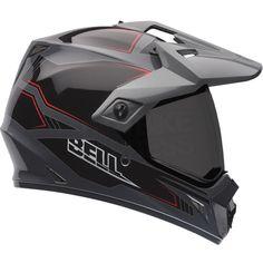 2015 Bell MX9 Adventure Helmet - Blockade Black