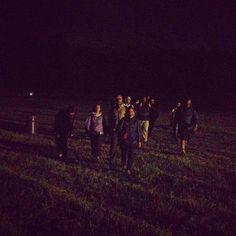 E dopo il #pisablog13 siamo tornati a camminare di notte sul Monte Pisano