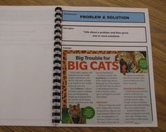 make text feature and text structure books