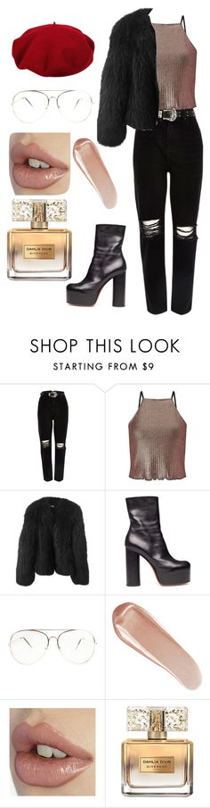 """""""Untitled #54"""" by alexastraznova on Polyvore featuring River Island, Miss Selfridge, Balenciaga, Vetements, Laulhere, NARS Cosmetics and Givenchy"""