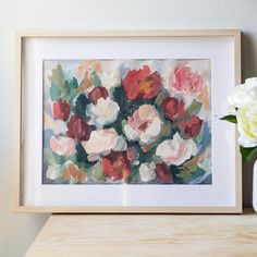 385 Likes, 23 Comments - Acrylic Painter Quiet Moments, Pure Joy, Flower Paintings, In This Moment, Pure Products, Canvas, My Love, Flowers, How To Make