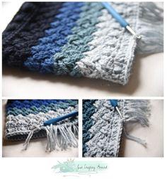 15 Fun, Fabulous FREE Fringed Crochet Patterns: Crochet Cowl Free Pattern with Short Fringe