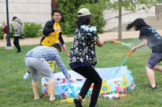 MU students celebrate Grand Songkran, Thailand's New Year Festival