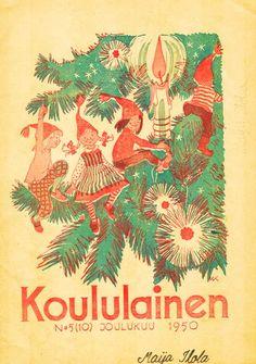 Maija Karma Christmas Fairy, Xmas, Book Illustration, Illustrations, Naive Art, Pixies, Helsinki, Childrens Books, Nostalgia