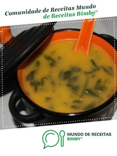 Sopa de Agrião da Avó de 3saints. Receita Bimby<sup>®</sup> na categoria Sopas do www.mundodereceitasbimby.com.pt, A Comunidade de Receitas Bimby<sup>®</sup>. Cooking Classes, Cheeseburger Chowder, Thai Red Curry, Good Food, Ethnic Recipes, Rose, Cod Recipes, Portuguese Recipes, Bon Appetit