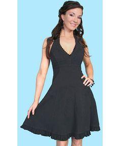 Scully Peruvian Cotton Halter Top Dress