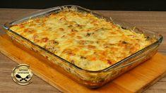 Πίτσα στο ταψί ή αλλιώς Σουφλέ!  Πεντανόστιμο σουφλέ. Θα το λατρέψετε! Με απλά υλικά, εύκολο και μπορεί να αποτελέσει ένα τέλειο ορεκτικό ή ακόμα και κυρίως πιάτο στο τραπέζι σας. Μικροί και μεγάλοι θα το λατρέψουν! Greek Recipes, Pork Recipes, Cooking Recipes, The Kitchen Food Network, Savory Muffins, Savoury Pies, Dessert Recipes, Desserts, Food Network Recipes