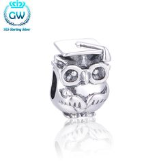 Hot Sale Halloween Charms Colgantes Para Pulseras Diy Owl Charms For Bracelets Jewelry Brand GW Jewellery T079-30