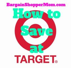 How to Save at Target - Learn all the tips and tricks and best ways to save money at Target. #savingmoney
