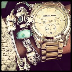 #Michael #Kors #Watch Only $119, Super Cheap! MK Outlet is your best choice for 2015 bags.