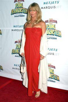 Goldie Hawn, red carpet - Goldie Hawn through the years
