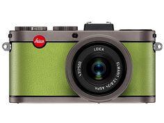 Brand New Leica a la carte Titanium Anodised Apple Green Leather 18456 Bar Fancy, Leica Camera, Capri Blue, Vintage Cameras, Yellow Leather, Photo Tips, Tech Gadgets, Consumer Electronics, Digital