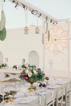 This breathtaking wedding in Southern Italy features Morrocan-inspired details, a gorgeous two-piece bridal look, and stunning documentation of the day.