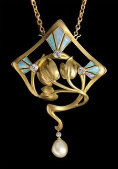 Brooch-Pendant   In the style of Georges Fouquet   French, c.1900